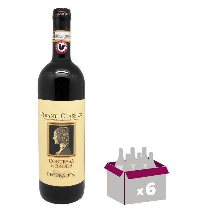 Contessa Di Radda Geografico Chianti - Vin rouge d' Italie