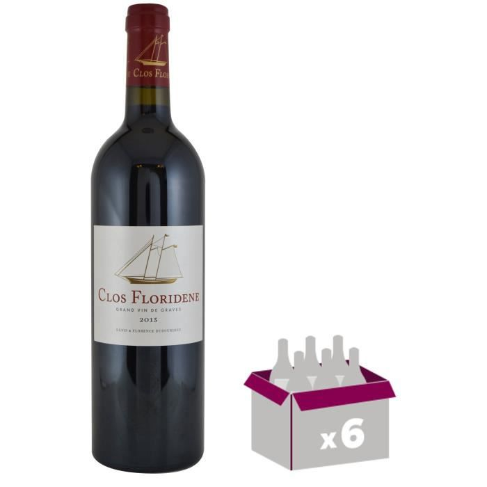 Clos Floridène Graves 2013 - Grand Vin de Bordeaux x 6VIN ROUGE