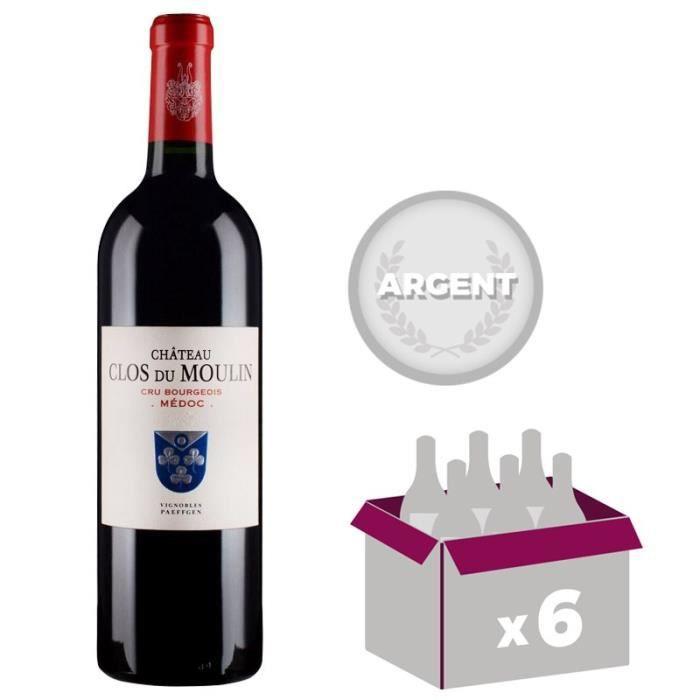 Château Clos du Moulin - Médoc - Cru Bourgeois - 2013 - Vin rougeVIN ROUGE