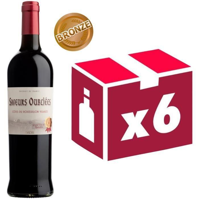 Saveurs Oubliées - AOP Côtes du Roussillon Villages - 2013 - Vin rougeVIN ROUGE