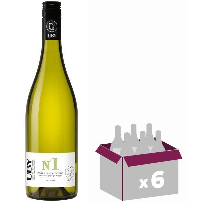 UBY N°1 Sauvignon - IGP Côtes de Gascogne - Vin Blanc secVIN BLANC