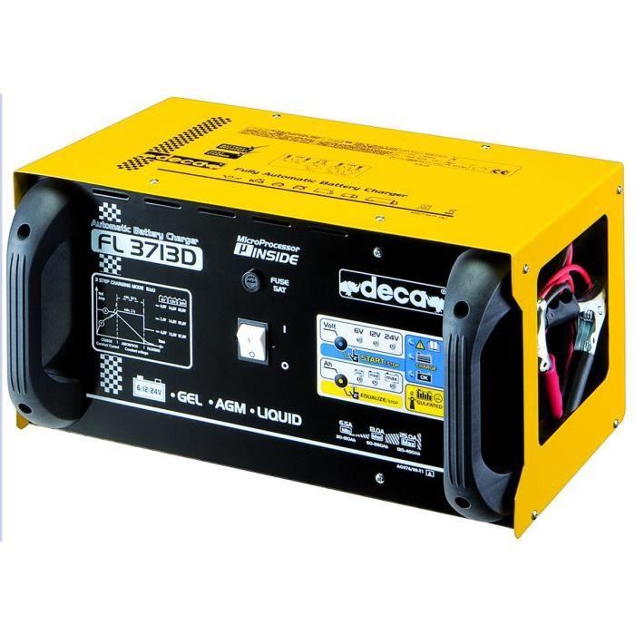 DECA Chargeur de Batterie 6V 12V 24V 450A