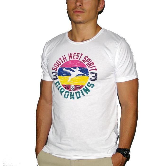 FCGB Tee shirt Southwest spirit - Adulte - Blanc