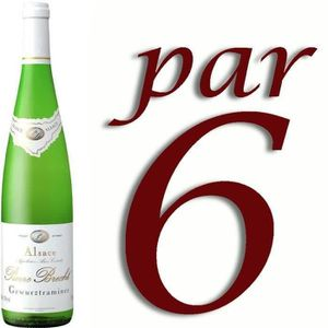 VIN BLANC Pierre Brecht Gewurstraminer - Vin blanc d'Alsace