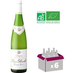 VIN BLANC Pierre Brecht Pinot Gris - Vin blanc d'Alsace