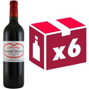 VIN ROUGE Héritage Chasse Spleen Haut-Médoc 2013 - Vin ro...