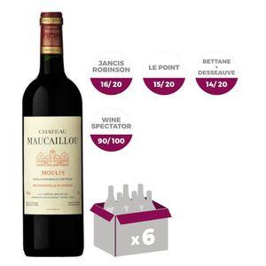 VIN ROUGE Château Maucaillou Moulis Grand Vin de Bordeaux 20