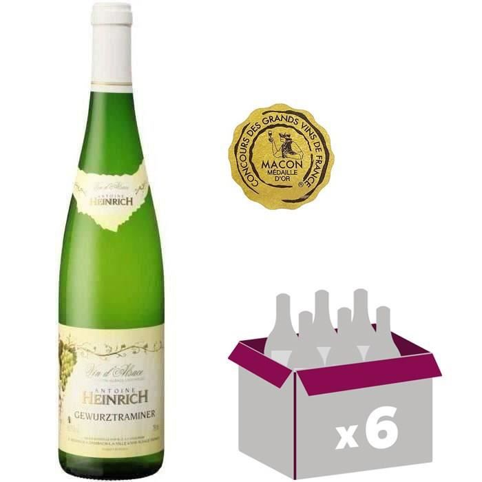 VIN BLANC Heinrich 2015  Gewurztraminer  - Vin blanc d'Alsac