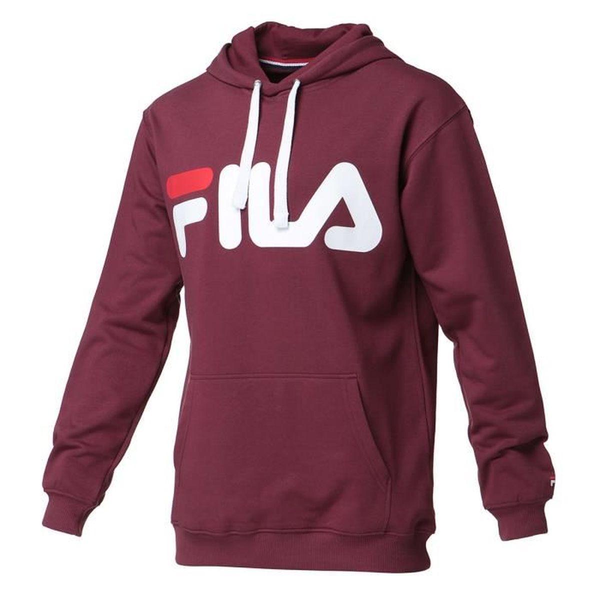 Sweat Crewneck Fila Classic Logo Sweater Gris Unisexe