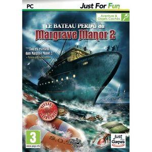 JEU PC LE BATEAU PERDU DU MARGRAVE MANOR 2 / Jeu PC