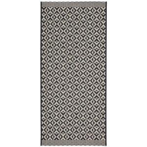 Tapis de cuisine Sisal style classique 67x140 cm gris