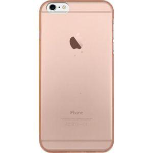 BIGBEN CONNECTED Coque Rigide iPhone 6 / 6S - Translucide Orange Fluo