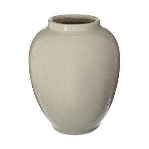 VASE - SOLIFLORE Atmosphera - Vase céramique craquelé vent H23 D, 1