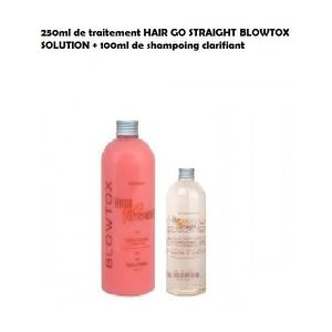 DÉFRISAGE - LISSAGE LISSAGE BRESILIEN HAIR GO STRAIGHT BLOWTOX KIT 250