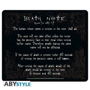 TAPIS DE SOURIS Tapis de souris Death Note - Rules