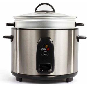 CUISEUR À RIZ DOMOCLIP DOC100A Cuiseur à riz et vapeur - Inox