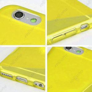 coque silicone iphone 7 jaune