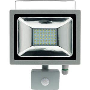 PROJECTEUR EXTÉRIEUR Projecteur LED 20W Gris avec détecteur - IP44 CE