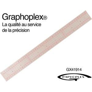 COUPLEUR D'ANTENNE Règle de couture japonaise 50cm - Graphoplex {coul