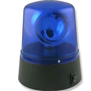 OBJETS LUMINEUX DÉCO  Mini Gyrophare de couleur bleu a pile