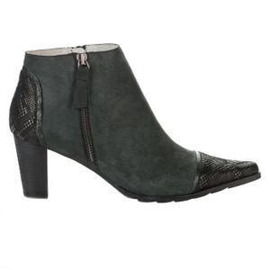 BOTTINE Boots femme - UN MATIN D éTé - Noir - TOM - Millim
