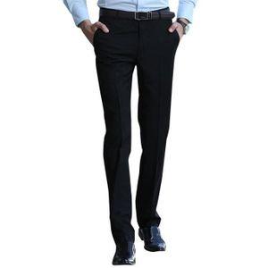 Pantalon de costume homme noir - Achat   Vente pas cher 32cf51c26a6