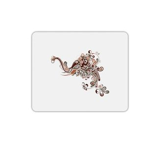 TAPIS DE SOURIS Tapis de souris rectangle éléphant arabesque