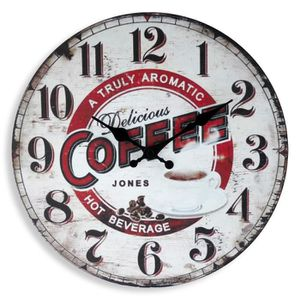 HORLOGE - PENDULE MUNDUS Horloge Delicious - Ø 33,8 cm - Mouvement q