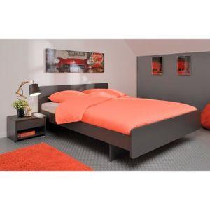 structure bz sans matelas fabulous lit rembourr noa cuir synthtique x cm structure de lit sans. Black Bedroom Furniture Sets. Home Design Ideas