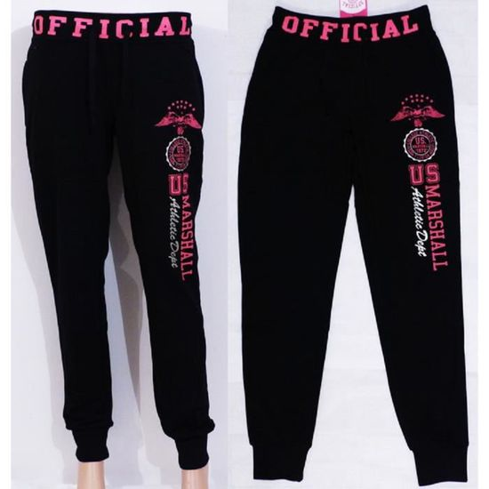 Pantalon de Jogging US Marshall Noir Taille S Collection Eté - Achat ... 545d86628998