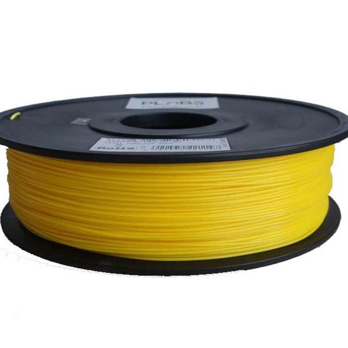 ESUN Filament pour Imprimante 3D HIPS - Jaune - 3 mm - 1kg