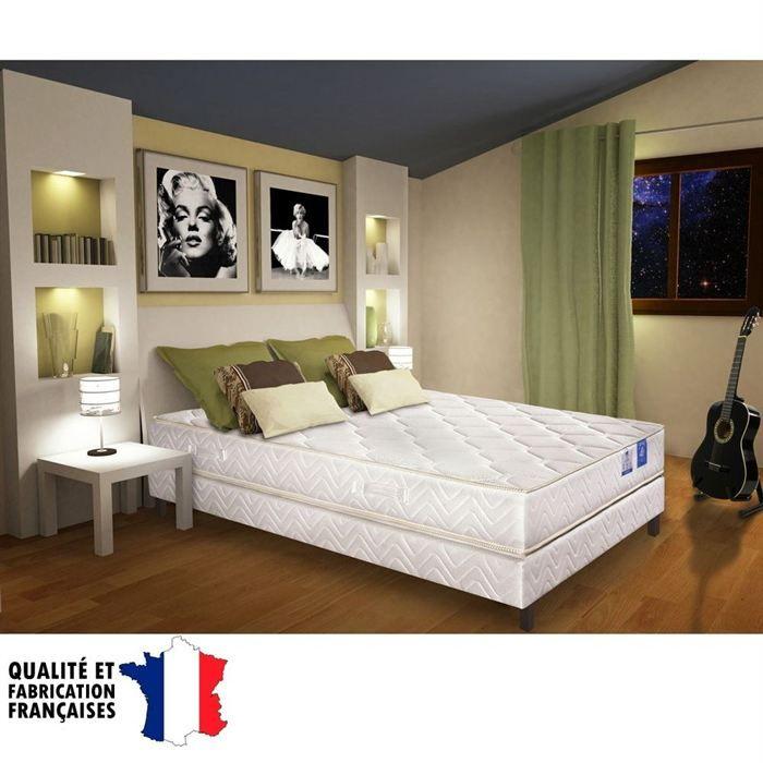 BENOIST Matelas 140x190 cm - Mousse - Ferme - 35 kg/m3 - 2 personnes