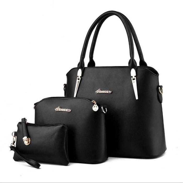 sac a main noir de marque