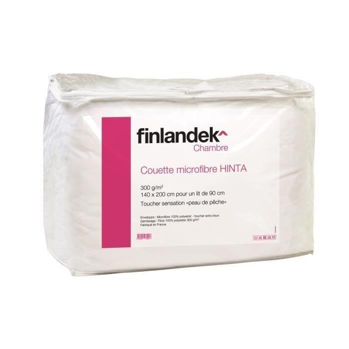 COUETTE FINLANDEK Couette tempérée microfibre HINTA 140x20