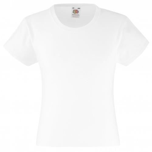 T-SHIRT T-shirt Fruit Of The Loom pour fille