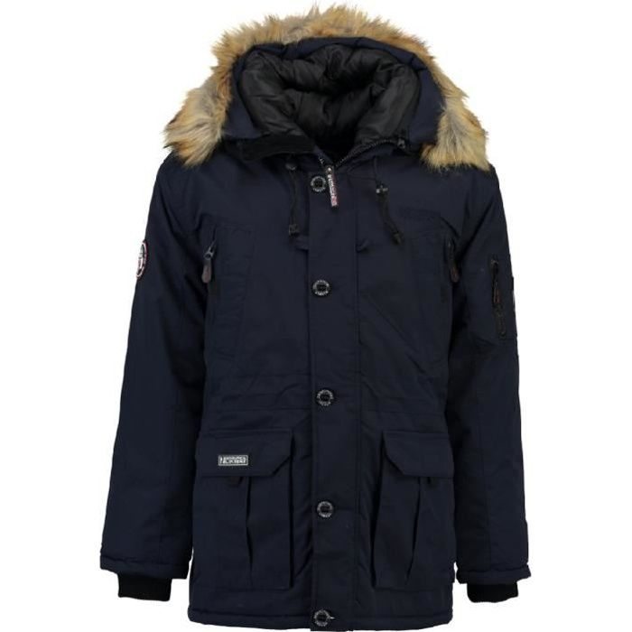 Parka Homme Geographical Norway Boeing Marine Bleu Marine - Achat ... 4d1c78c747b5