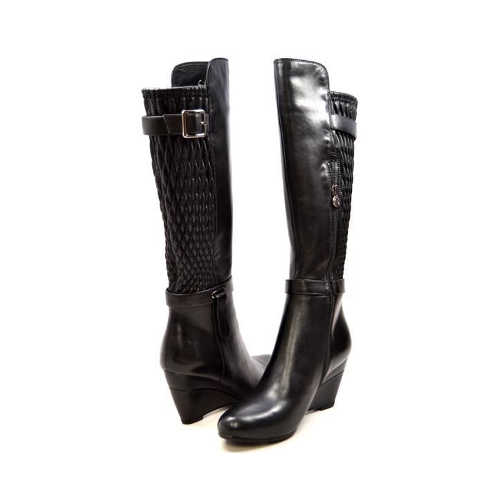 Collection Slim Tally en cuir Bottines compensées ZL5ZW Taille-42
