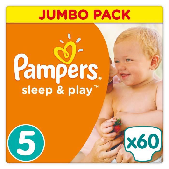 Pampers Sleep Play Taille 5 11 23 Kg 60 Couches Achat Vente
