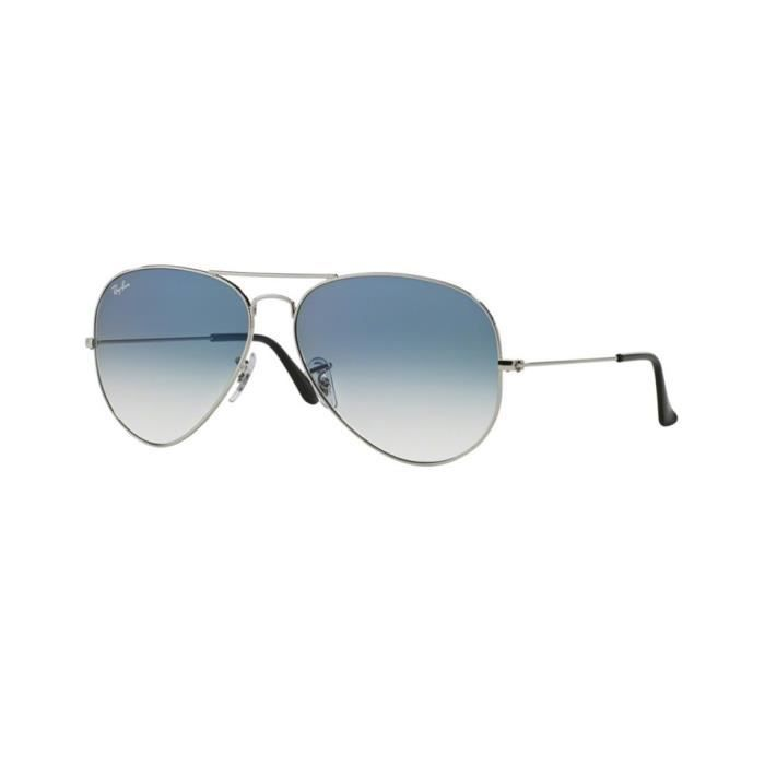 Lunettes de soleil Ray-Ban HommeAVIATOR LARGE METAL RB3025 003/3F Grise55 x 47,5