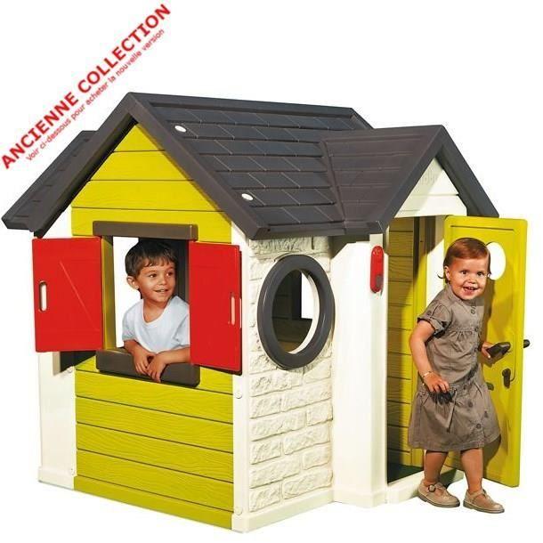 """MAISONNETTE EXTÉRIEURE Ancienne version Smoby Maison """"My House"""""""