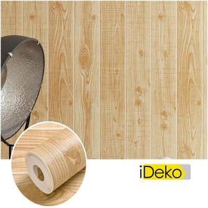 papier peint imitation bois achat vente pas cher. Black Bedroom Furniture Sets. Home Design Ideas