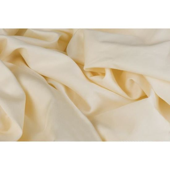 DODO Drap housse 140x190 cm vanille   Achat / Vente drap housse