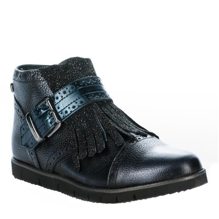 Boots fille - HIP - Bleu marine - P1078