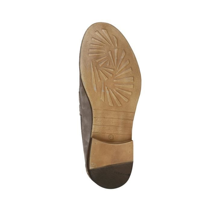 Made in Italia - Mocassins pour homme (LAPO_TAUPE) - Gris SFUVyAmQ