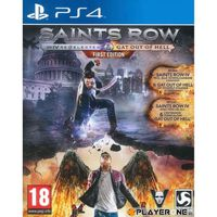 JEU PS4 Saints Row Re Elected and Gat Out of Hell : Playst