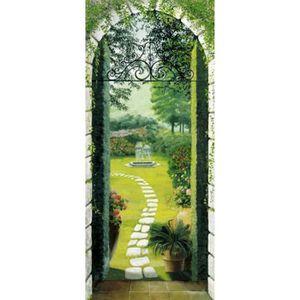 PAPIER PEINT Poster Papier Peint Jardins - Vue Du Portique (200