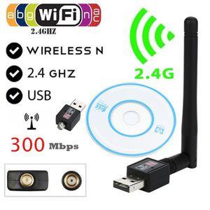 CARTE RÉSEAU  300 Mbps 802.11n / g / b Mini USB Wifi Adaptateur
