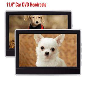 LECTEUR DVD PORTABLE 2 pièces 11,6 pouces 1366 x 768 TFT numérique écra