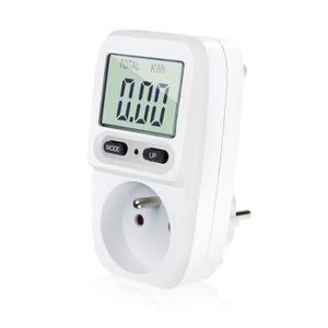 STATION MÉTÉO Wattmètre prise compteur d'énergie, consommation d