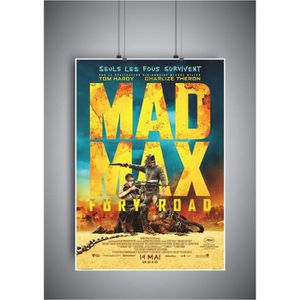 AFFICHE - POSTER Poster MAD MAX affiche cinéma wall art - A3 (42x29